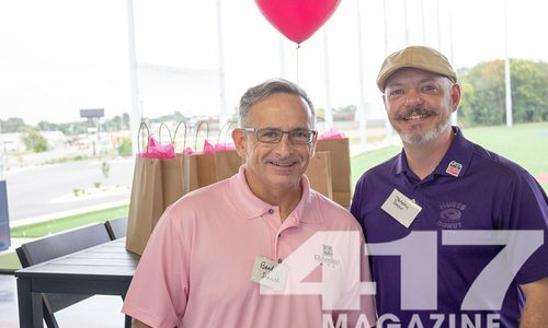 See pictures from the Real Men Wear Pink Campaign Kickoff 2021