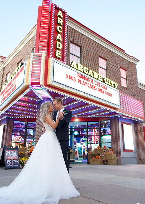Wedding with Branson Dream Weddings