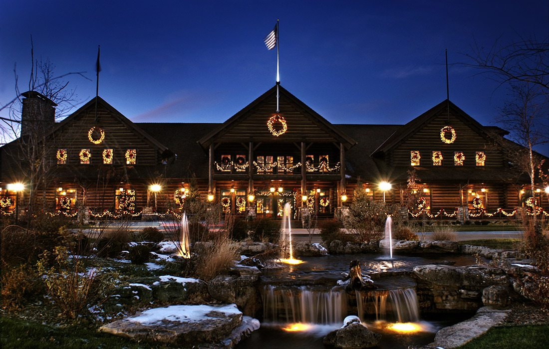The Keeter Center at Christmas