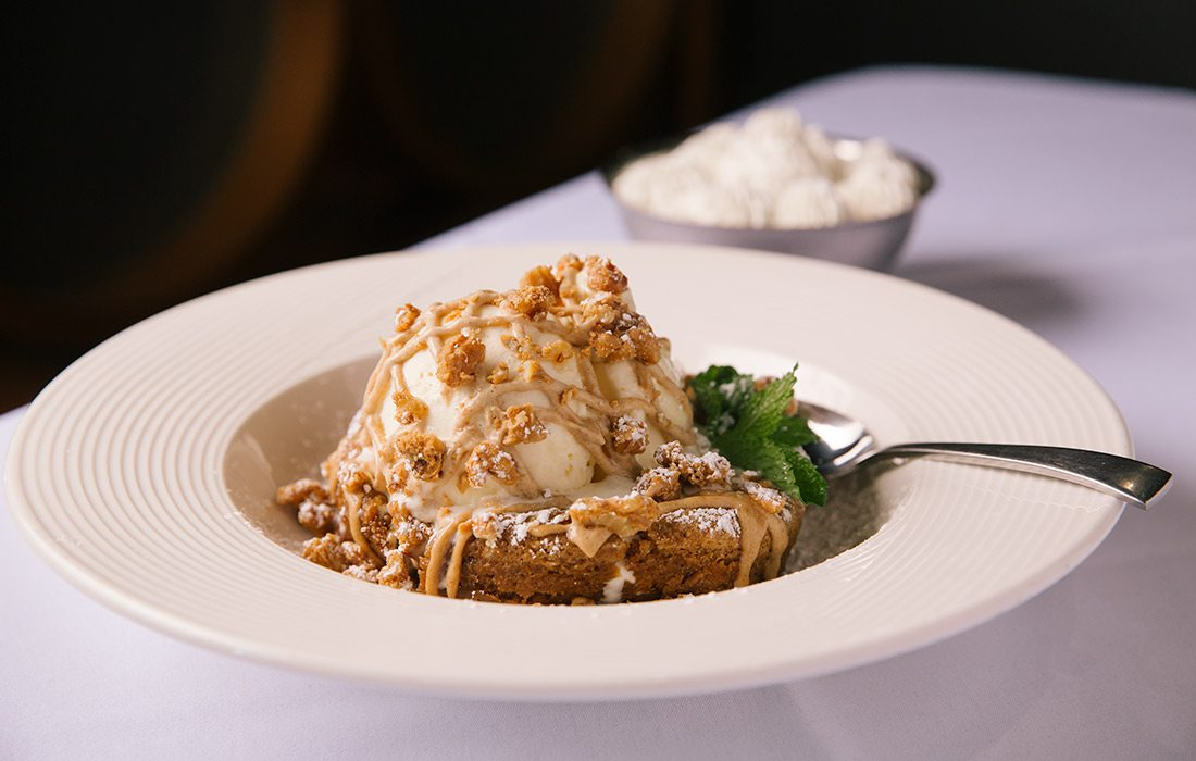 Dessert at Level 2 Steakhouse Branson MO