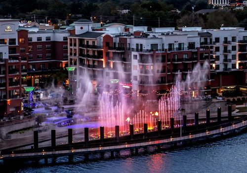 Fireworks at the Branson Landing
