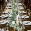 Table setting wedding rentals from Branson Party Rentals