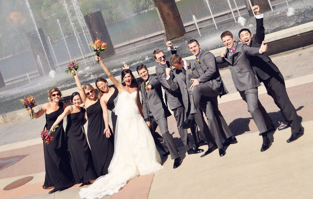 Branson Dream Weddings wedding party