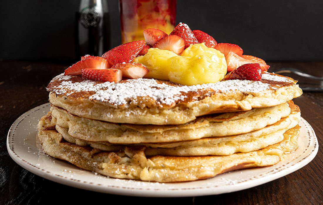 Lemon Ricotta Pancakes from First Watch in Springfield, MO