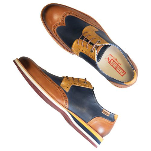 Pikolinos leather oxfords, $200 at Plaza Shoe Store