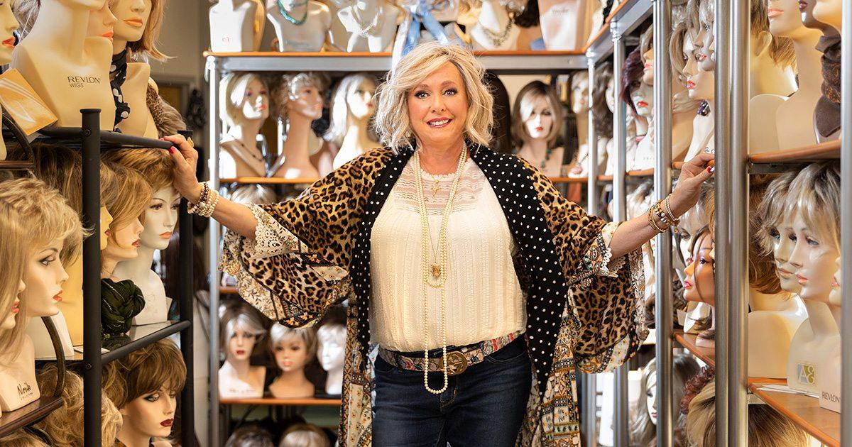Cheryl Ormsby of Brigitte's Wig Boutique in Springfield MO