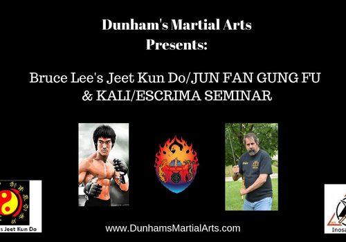 Bruce Lee's Jeet Kun Do & Inosanto Lineage Kali/Escrima Seminar event preview image
