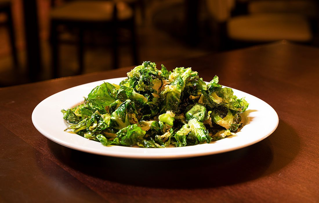 Brussel Sprouts from Char Steakhouse & Oyster Bar