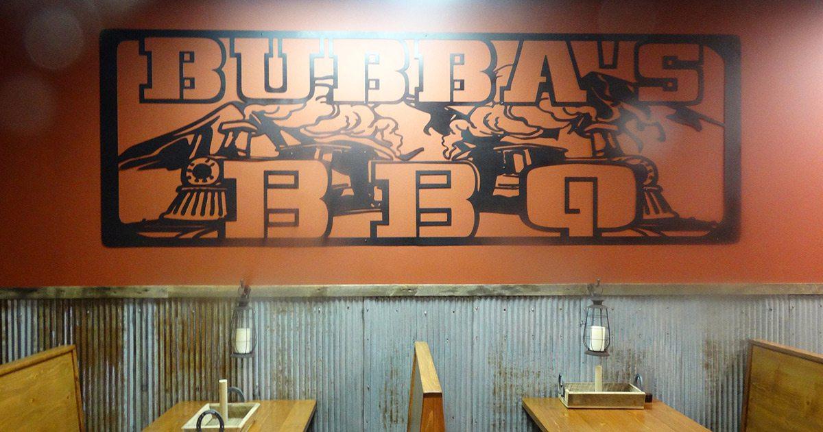 Bubba's BBQ interior in Springfield MO