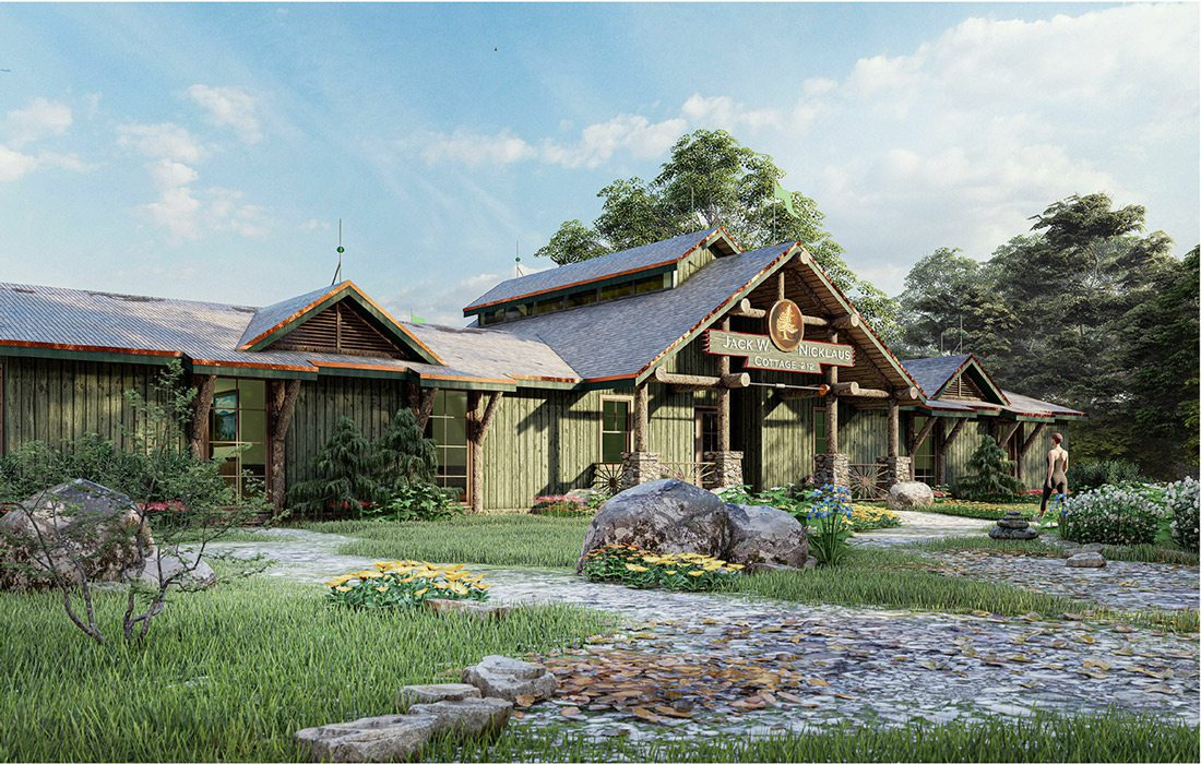 Big Cedar Buffalo Ridge cabin render