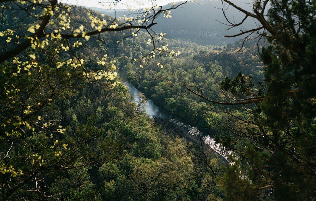Buffalo National River in Arkansas, Missouri