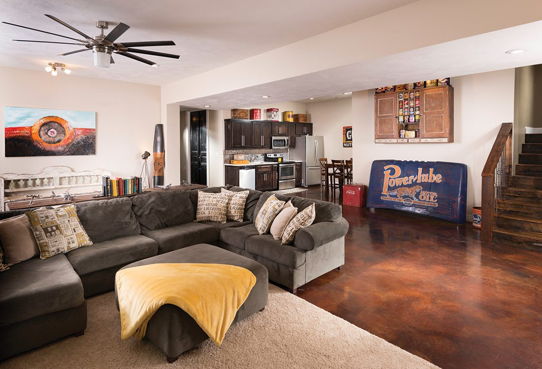 Seager Home: Basement