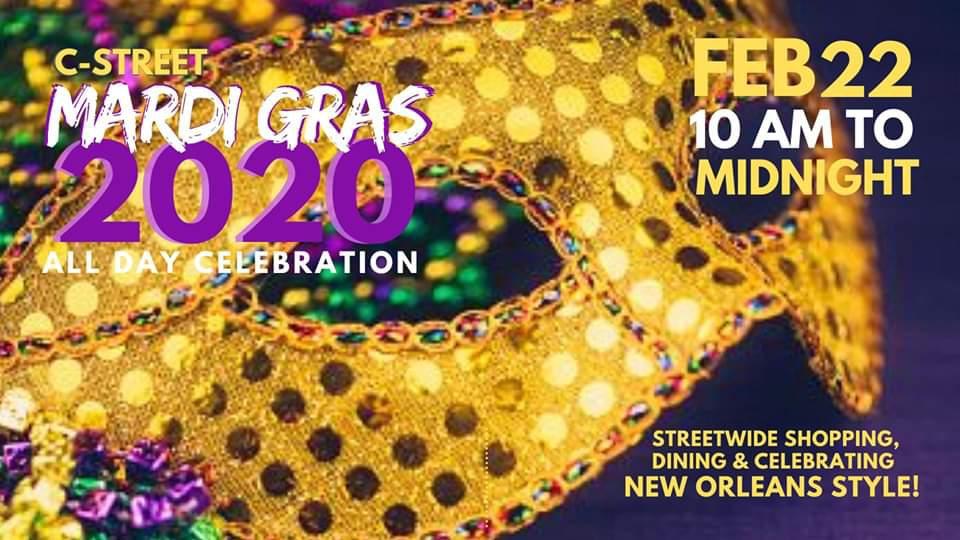 C-Street Mardi Gras - All Day Celebration!