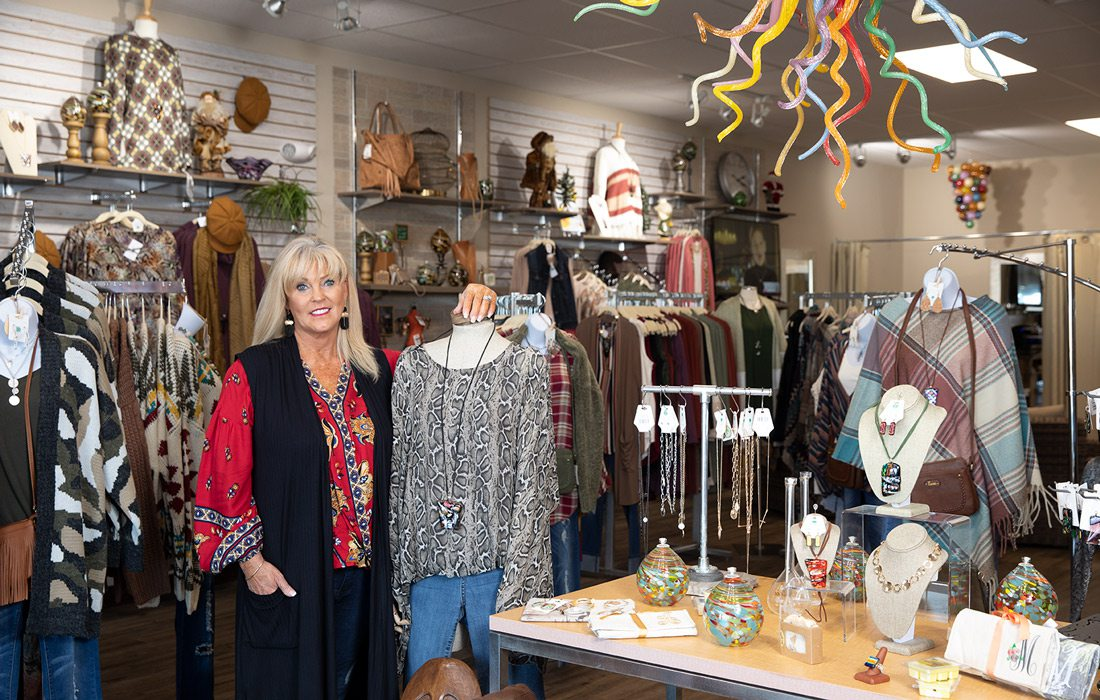 Angie Cotner at CC Boutique