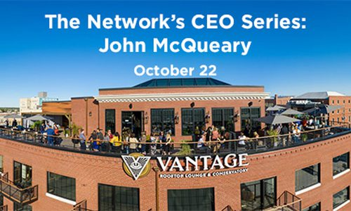 The Network's CEO Series Banner