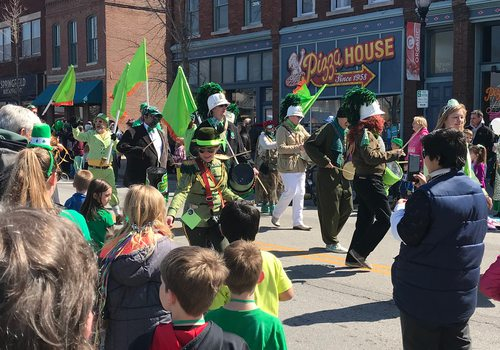St. Patrick's Day Parade in Springfield, MO