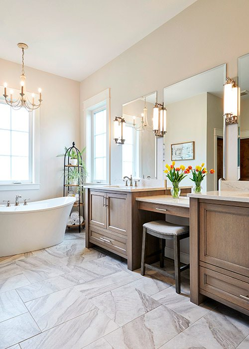 Bathroom cabinets by Cabinet Concepts by Design