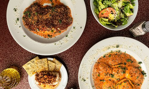 Pasta dishes at Cafe Basilico in Springfield MO