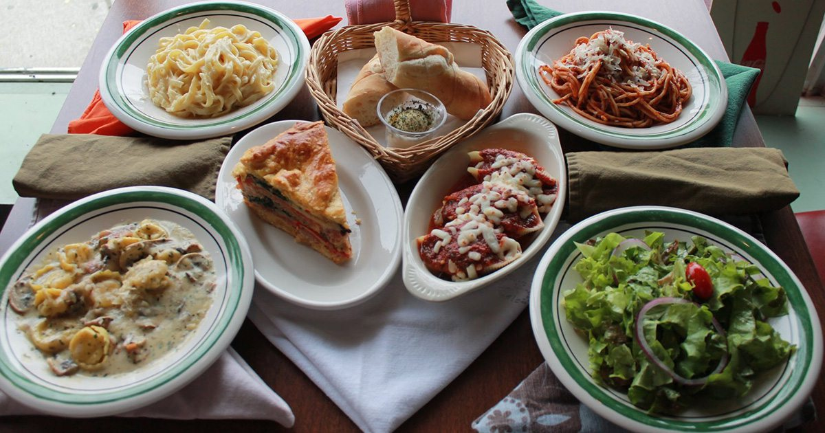 Pasta dishes, salads and Italian staples fill Basilico Italian Cafe's menu