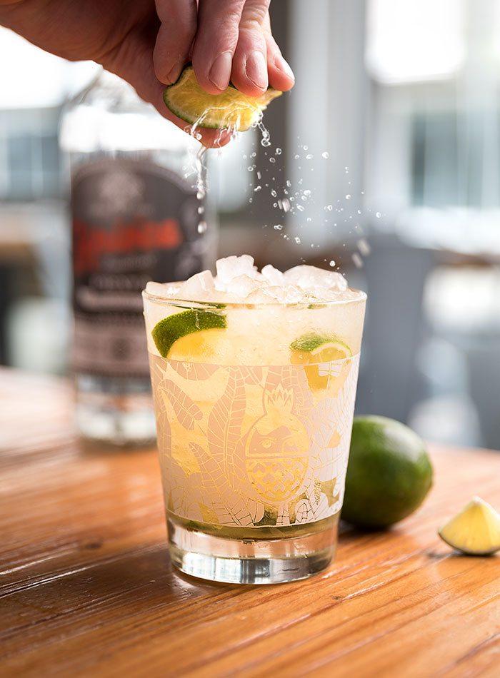 The caipirinha at Golden Girl Rum Club