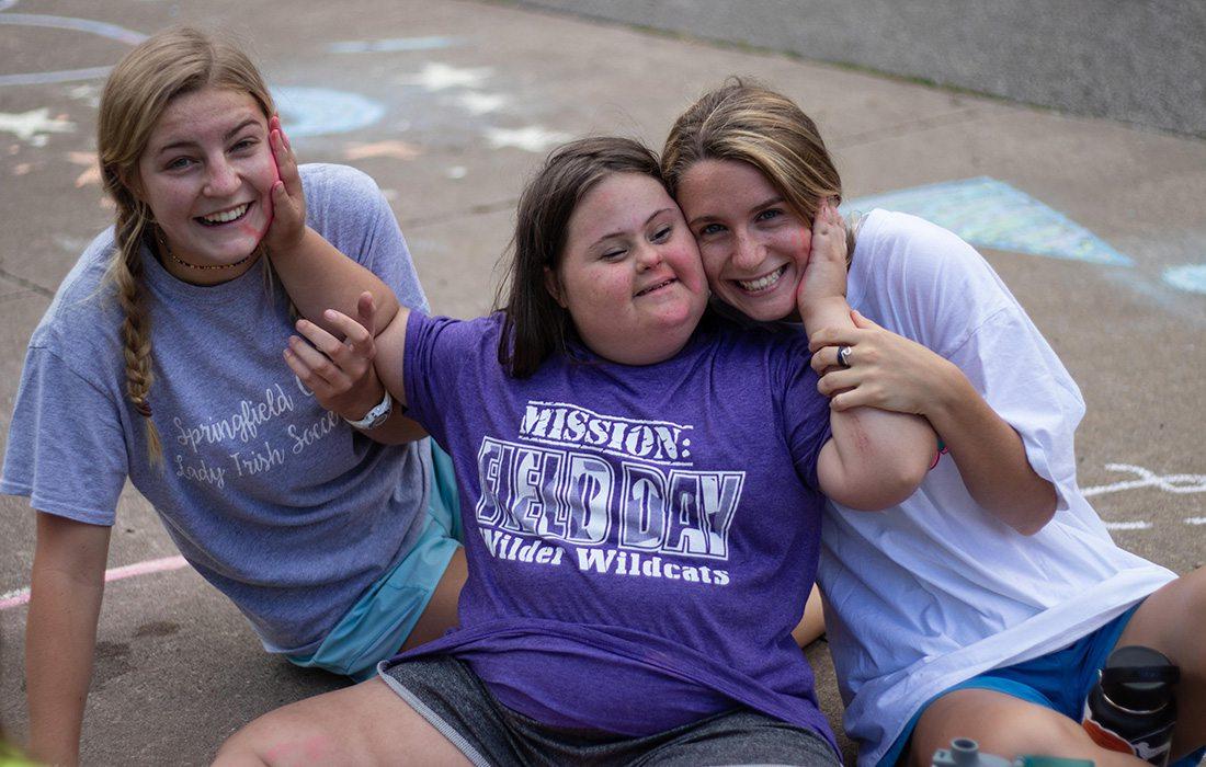 Heim, Young & Associates volunteer at Camp Barnabas