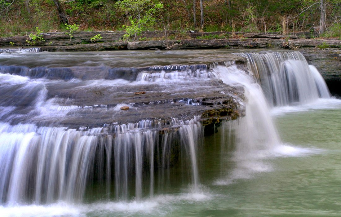 Waterfalls in the Ozarks