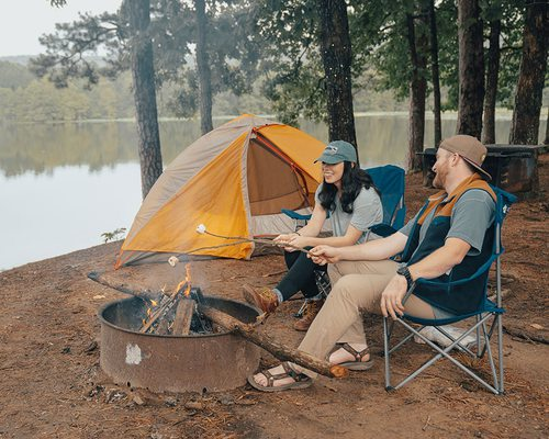 great places to camp in the ozarks