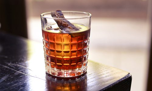 Candied Bacon Bourbon