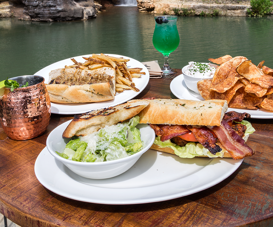 The Canyon Grill Restaurant's menu has dishes putting a spin on traditional cafe food by taking inspiration from the neighboring animals.