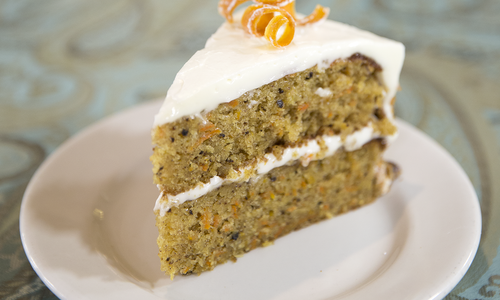 Carrot Cake at Relics Antique Mall