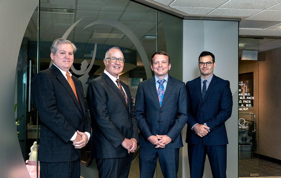 Arthur Hawes, MD; Carl Price, MD; Robert Shaw, MD; Connor Barnes, MD