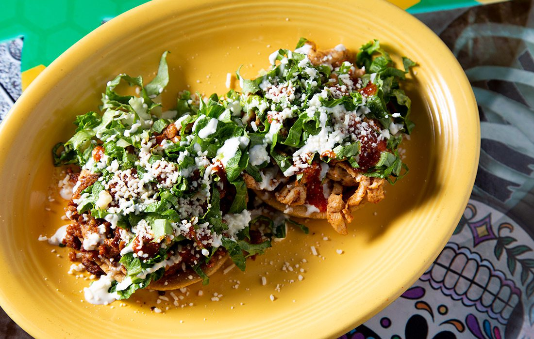 Sopes at Cesar's Old Mexico in Springfield MO