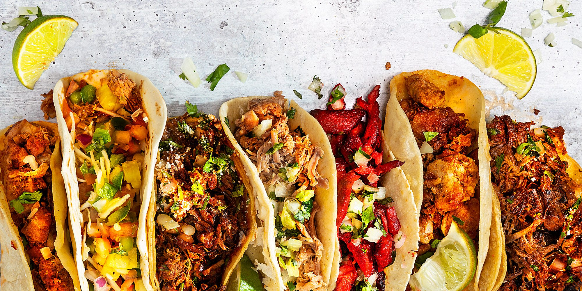 Various tacos from restaurants around Springfield MO