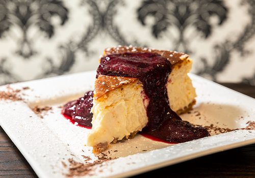 Cheesecake from Queen City Wine Dive