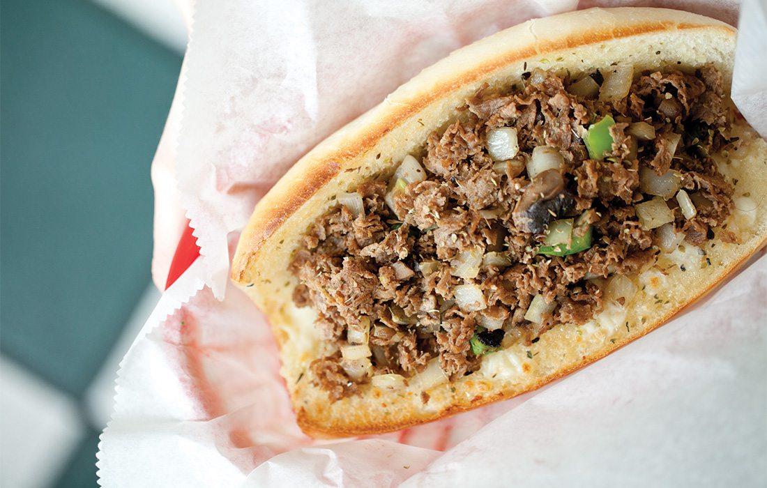Chicago Cheesesteak Company sandwich