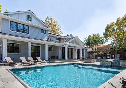 backyard in-ground pool