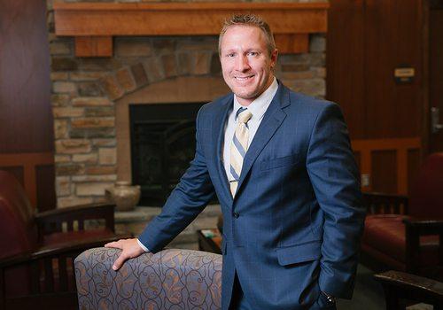 Chris Wyatt, President of Cox Barton County Hospital