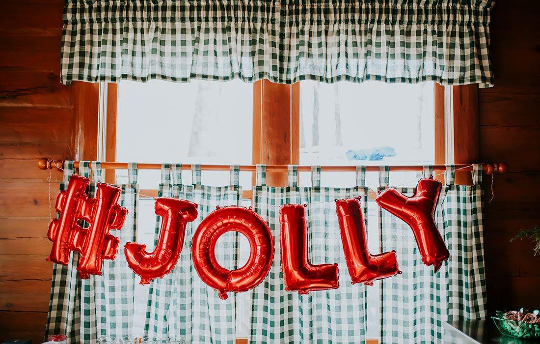 "Kitchen sign ""Jolly"""