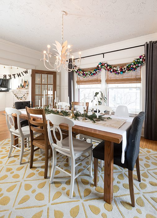 dining room christmas decor rountree springfield mo