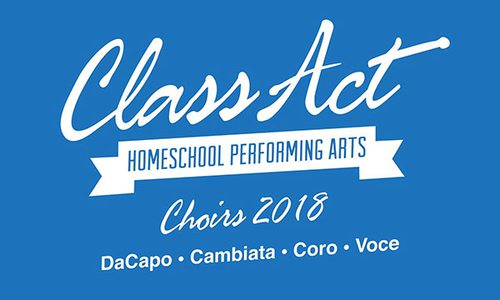 Class Act Homeschool Performing Arts Fall Choir Session