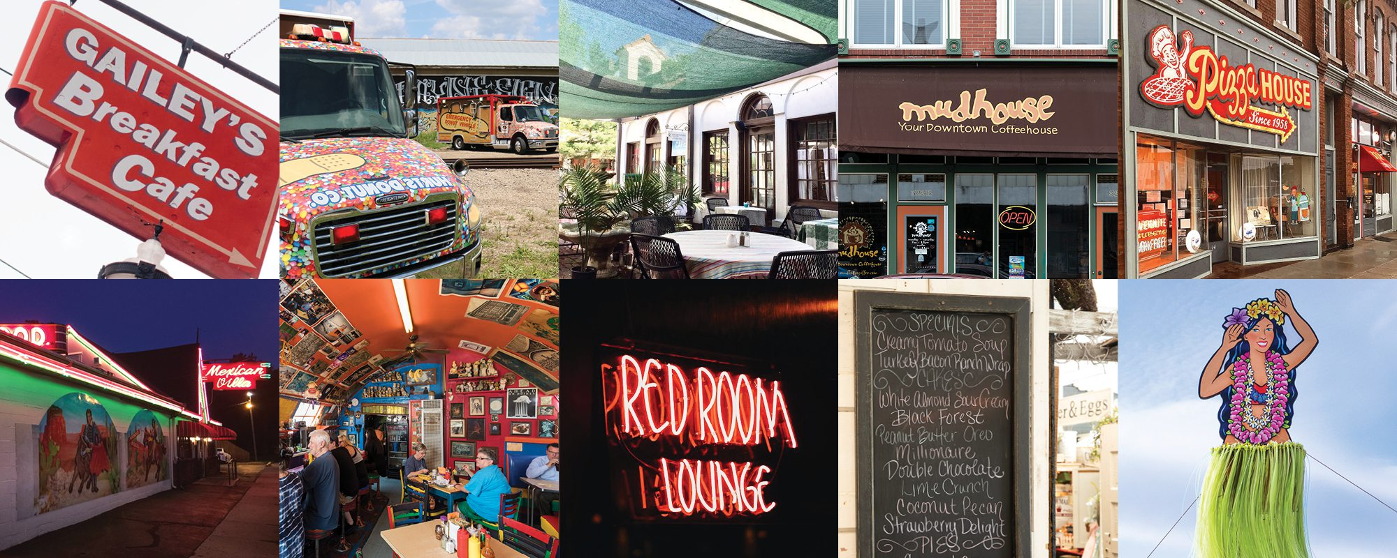 Well known restaurants in Springfield MO