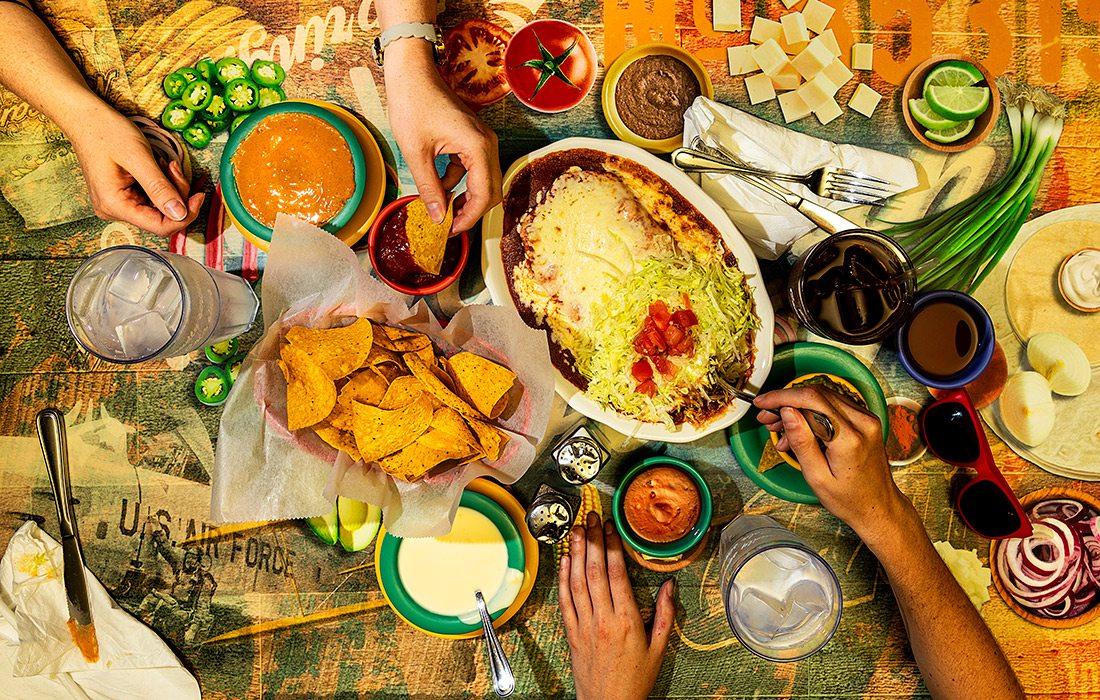 Mexican Villa's Burrito Enchilada Style in Springfield MO