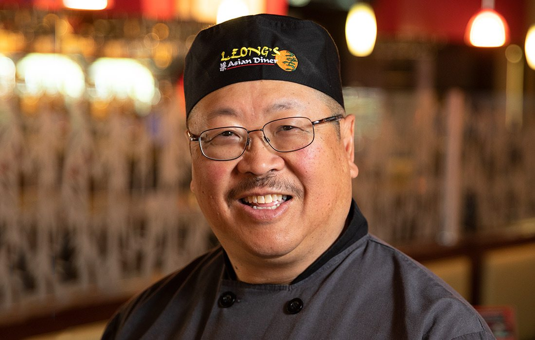 Wing Yee Leong of Leong's Asian Diner