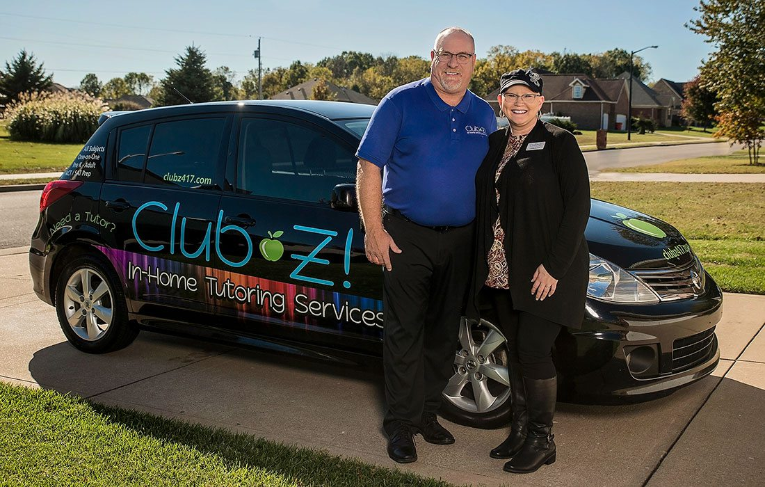 Owners of Club Z Tutoring Springfield MO