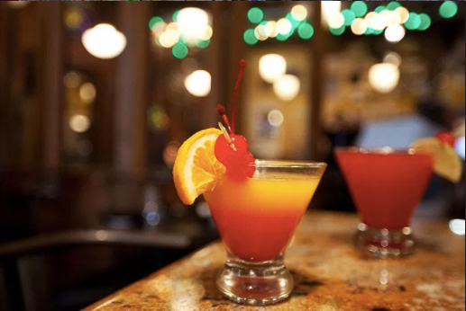 Visit during Happy Hour or try a bite from the expansive menu featuring bar bites, pasta, burgers, sandwiches, beef, chicken or seafood entrees, soups and salads.