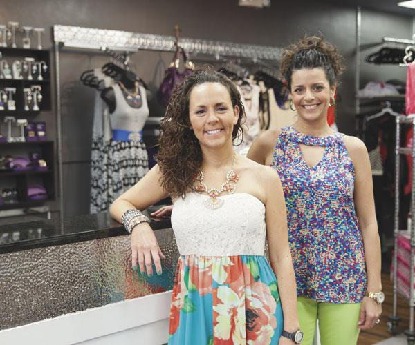 Ericka Hamilton and her sister Misha Wilson of Cocos Boutique in Joplin