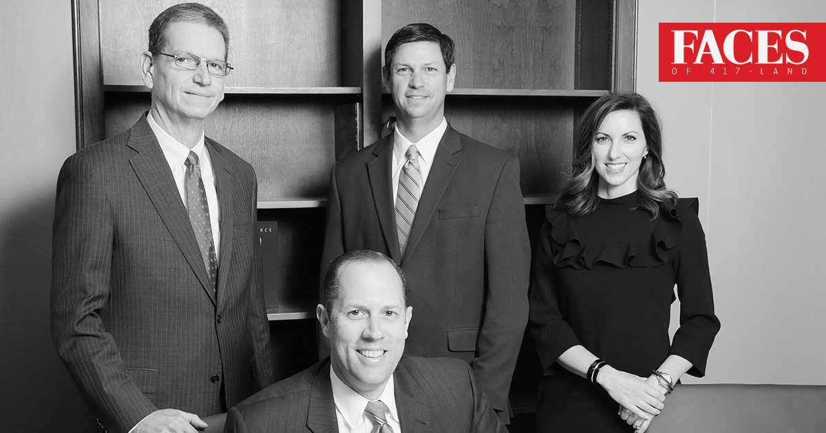 Keith Noble, Brent Baldwin, Lacy Martin, Doug Neff of Commerce Bank in Springfield, MO