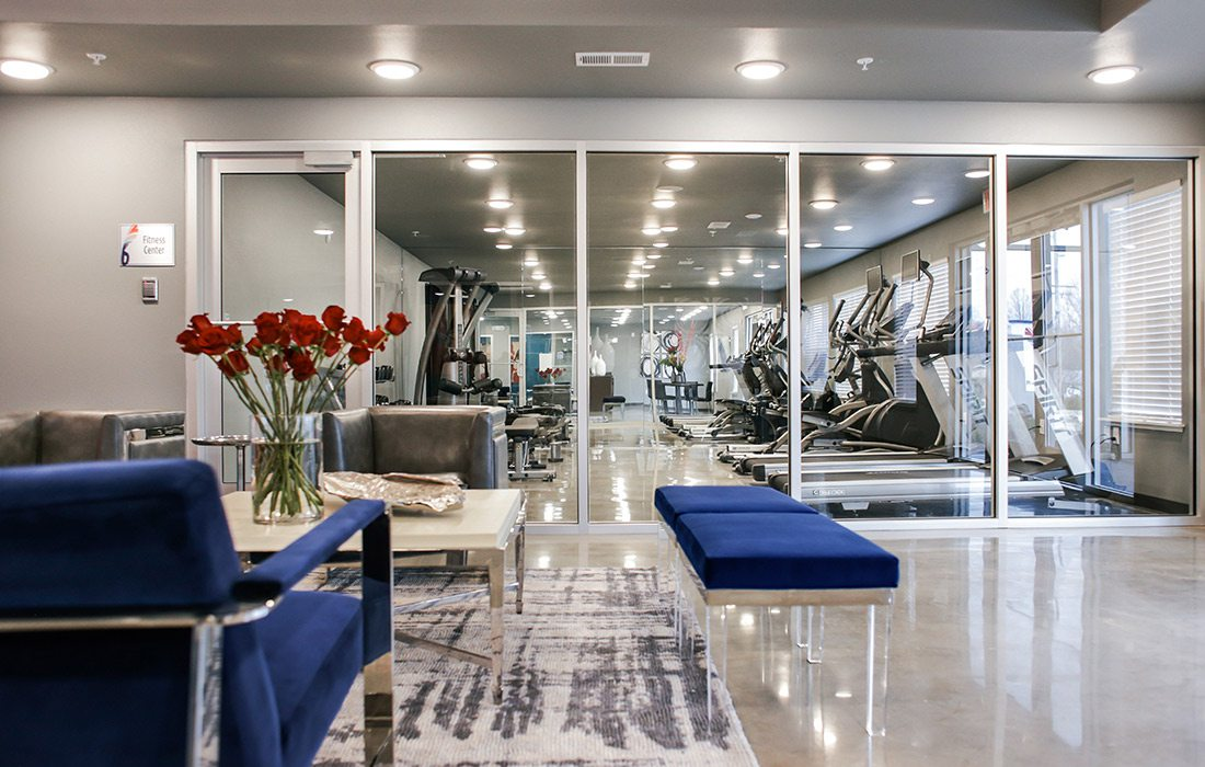 Biz 417 Commercial Design Awards 2019 Winner The Falcon Apartments Gym