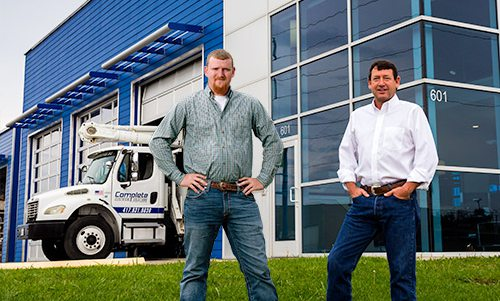 Mike Tillman and James Tillman of Complete Electrical Solutions in Springfield MO