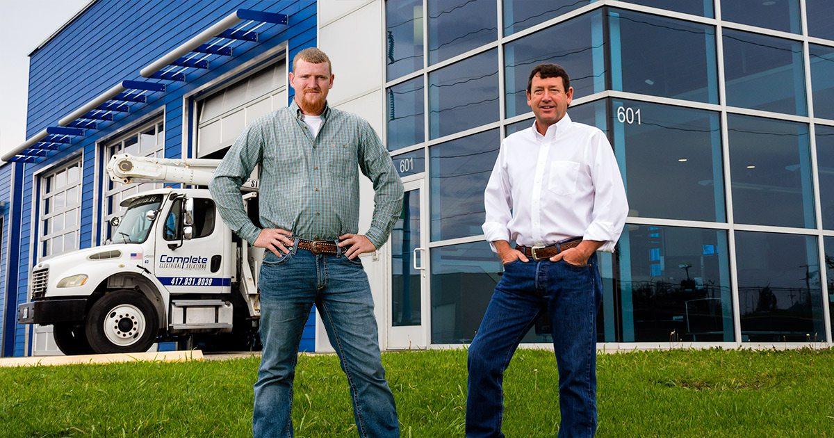 Mike and James Tillman
